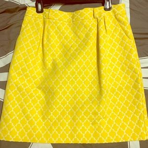 Yellow Kate Spade Skirt